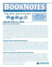 Five Ancestors Series Educators Guide